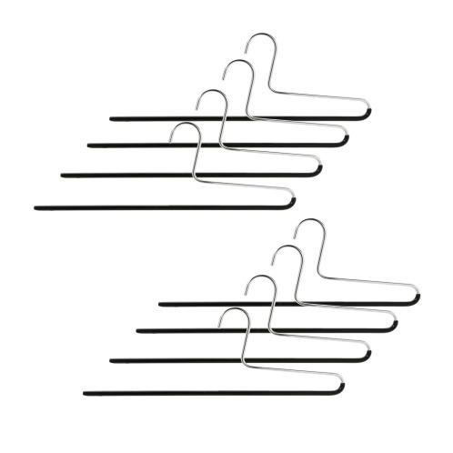 マワハンガー ドイツ発! スリムですべりにくいマワハンガー スラックス用 <8本セット>(その他 洗濯・ハウスクリーニング用品 ホーム・インテリア)の画像