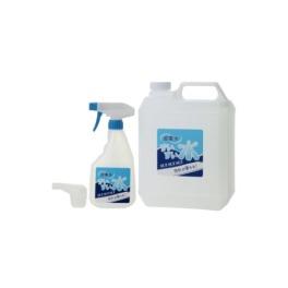 水で油汚れを落とす 超電水 すいすい水