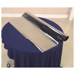 日射熱や紫外線をカット! 簡単に貼れる 吸着窓シート <90×180cm>