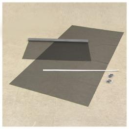 マサ 窓に取り付け夏を涼しく! 遮熱クールネット <100×230cm> 2枚組