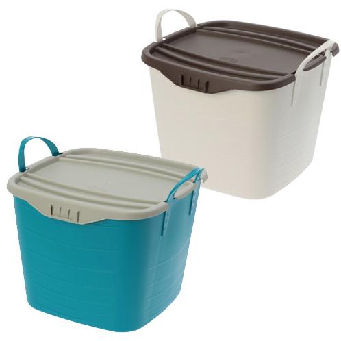 スタックストー スタックストー 収納ボックス バケット&オンバケット 2組セット <S>(おそうじ家電 洗濯・ハウスクリーニング用品 ホーム・インテリア)の画像
