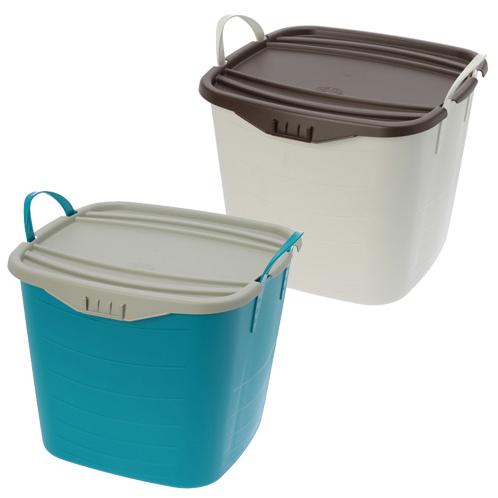 スタックストー スタックストー 収納ボックス バケット&オンバケット 2組セット <M>(おそうじ家電 洗濯・ハウスクリーニング用品 ホーム・インテリア)の画像