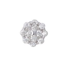 ボヌール 18K ダイヤモンド ペンダントトップ