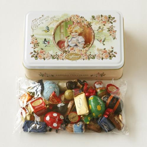 カファレル 2013年 チョコレートボックス <6周年記念デザイン缶>