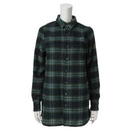 ゼラールスポーツ ウール混 オリジナルチェック 長袖チュニックシャツ <レディース>