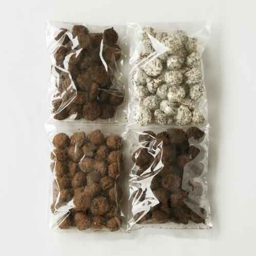 ベルギー産 トリュフチョコレート たっぷり1.2kgセット (わけあり)
