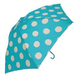 アツコ マタノ ドット柄 折りたたみ傘