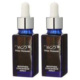 ホワイトディアマンテ 潤いツヤ肌美容液 ブライトネス コンセントレート インパクト 2本セット