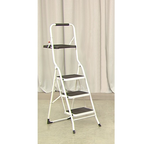 ヤマゼン トレー付3段ステップ(おそうじ家電 洗濯・ハウスクリーニング用品 ホーム・インテリア)の画像