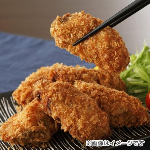 大粒!広島県産 ジューシー牡蠣フライ