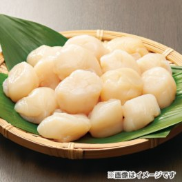 生でも食べられる! 北海道宗谷産 ほたて貝柱(無選別) <1kg>