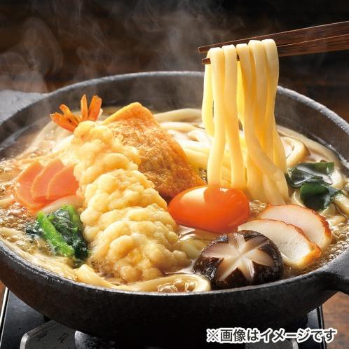 国産小麦使用 簡単さぬき鍋焼きうどん