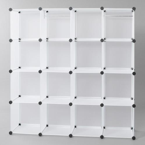 組立て簡単&組合せ自在 スタイリッシュ収納 ラックオンラック ボリュームセット