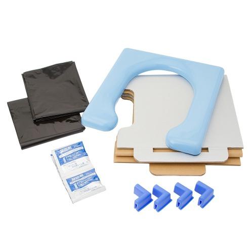 非常用簡易トイレ(防虫・除湿用品 洗濯・ハウスクリーニング用品 ホーム・インテリア)の画像