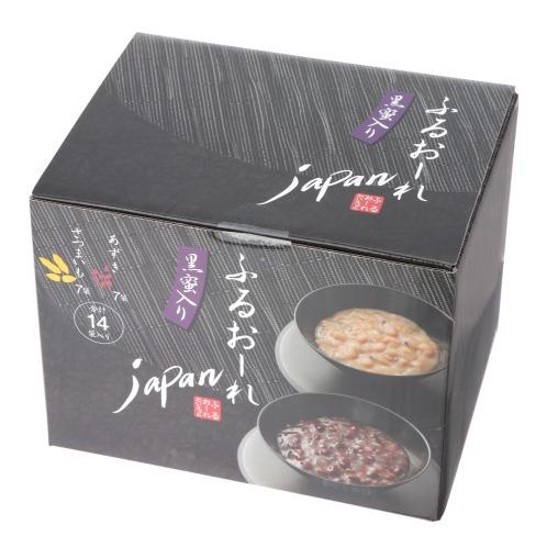 新ふるおーれじゃぱん 和風甘味と食を堪能 夢の3味競演セット