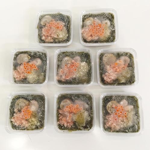 海鮮彩り6種の具材 ねばねば海鮮