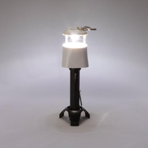 ドウシシャ 懐中電灯・吊り下げ照明スタンド照明の3通りの使い方で活躍!LEDフラッシュライト(照明器具 照明・ハウス関連品 家電・エレクトロ)の画像
