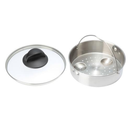 <2.5リットル> シリット tプラス圧力鍋 ガラス蓋&レシピ付 特別セット