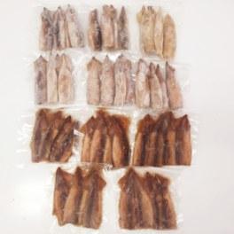 北海道産 やわらか若真イカ 2種セット (小さめサイズ)