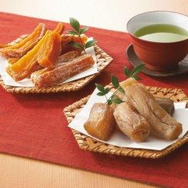 安納いもと玉豊の やわらか干し芋 2種セット