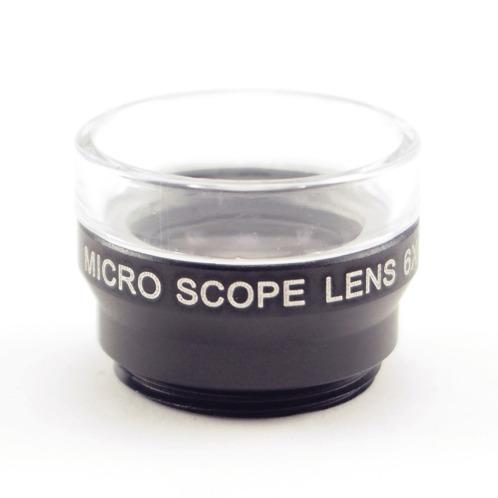 アゴール アゴール6倍マイクロスコープスマートフォン用レンズ専用クリップ付(双眼鏡・スコ-プ カメラ・デジタルカメラ・望遠鏡 家電・エレクトロ)の画像