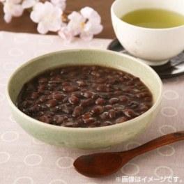 北海道十勝産小豆を使った 田舎風ぜんざい