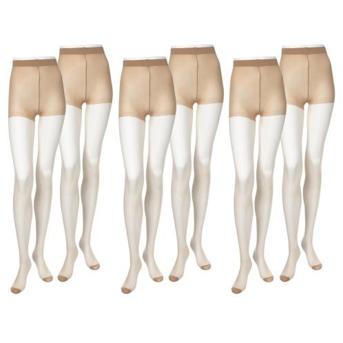 スアシノキセツ 素足の季節 ストッキング 同色6足セット(ストッキング・靴下 ファッション)の画像
