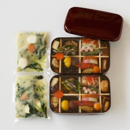 <2人お徳用> 京都伝統の味わい 京おせち(お雑煮付)