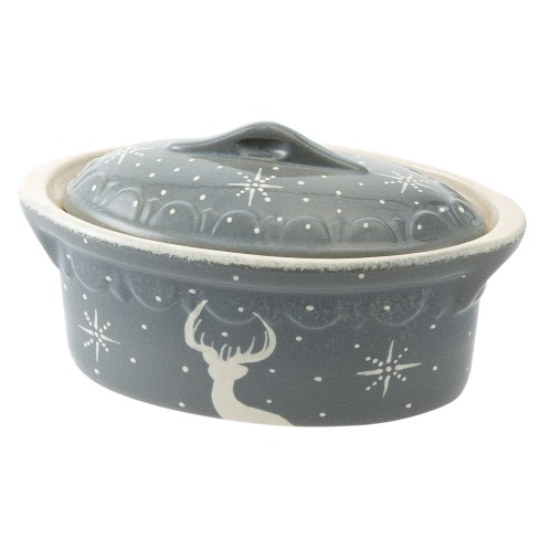 ベック アルザス地方伝統の陶器 テリーヌ オーバル