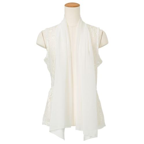 メッシュウィッシュ メッシュウィッシュレースジレ(パジャマ・室内着 ファッション)の画像