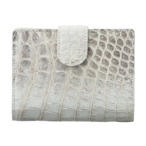 ペレリールッソ ペレリールッソヒマラヤクロコダイル2つ折りウォレット(財布・小物 ファッション)の画像