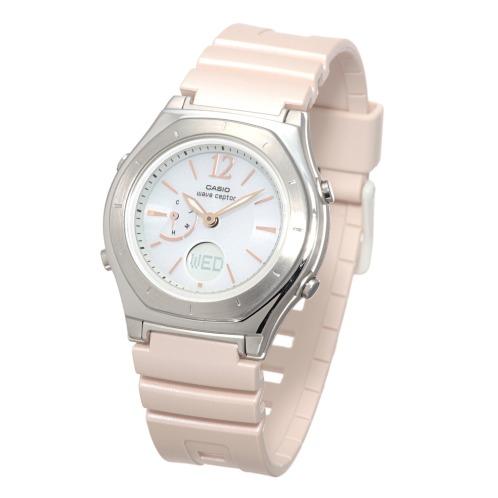 """カシオ カシオレディース電波ソーラー腕時計""""ウェーブセプター""""LWA−M160の画像"""