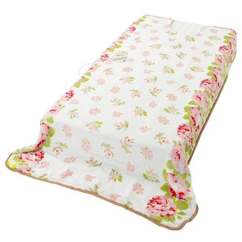 オンライフ 洗えるヒーター付足まき毛布の画像