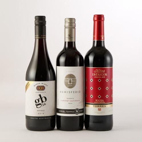 エノテカ エノテカ厳選食事をよりおいしくするコク旨赤ワイン3本セット(お酒 グルメ・お酒)の画像