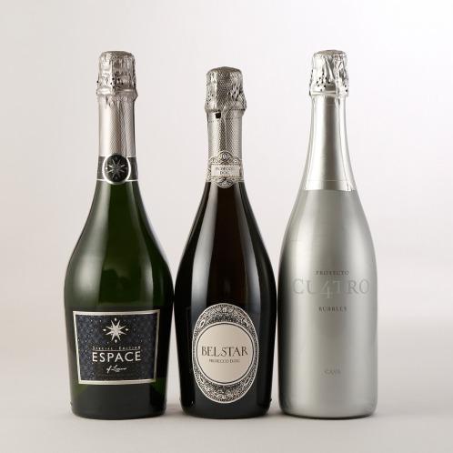エノテカ エノテカ厳選輝く美泡! スパークリングワイン3本セット(お酒 グルメ・お酒)の画像
