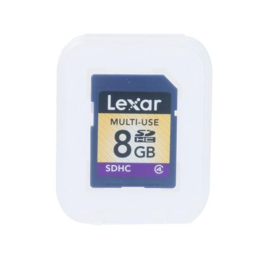 レキサー SDHCカード <8GB> CLASS4(情報機器・その他 パソコン・情報機器 家電・エレクトロ)の画像