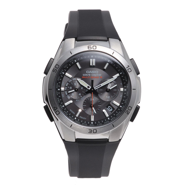 """0f377991f3 カシオ メンズ電波ソーラー腕時計 """"ウェーブセプター"""" <クロノグラフタイプ>"""