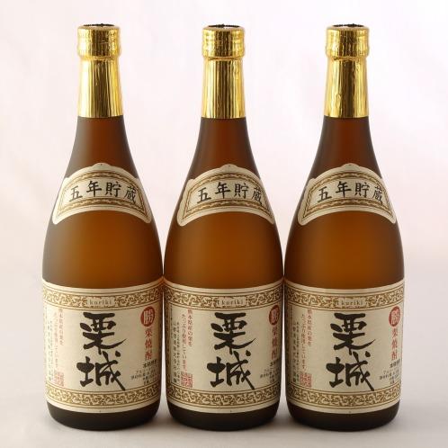 """熊本発! 「勝」栗焼酎 こだわりの""""栗城""""(お酒 グルメ・お酒)の画像"""