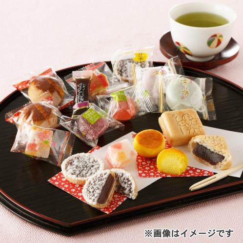 10種類のひとくち和菓子詰合せの画像