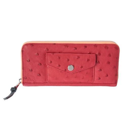 センプリチェ センプリチェオーストリッチ横長ウォレット(財布・小物 ファッション)の画像