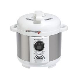 タイマーセットで簡単調理 電気圧力鍋