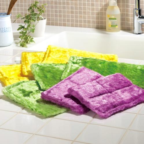 パルスイクロス 長い毛足で汚れをキャッチパルスイクロス8枚セット(清掃用具 洗濯・ハウスクリーニング用品 ホーム・インテリア)の画像