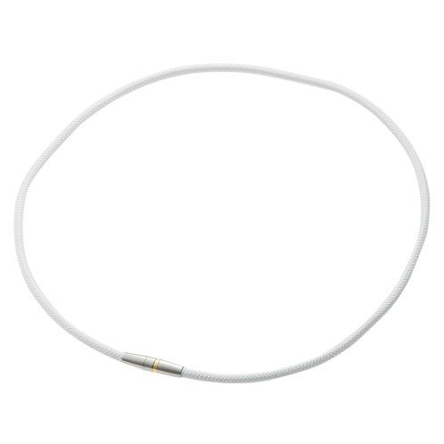 ファイテン 【ネット限定カラー:ホワイト】ファイテンRAKUWA磁気チタンネックレス<管理医療機器>(その他 お茶・食品など 美容・ダイエット・フィットネス)の画像