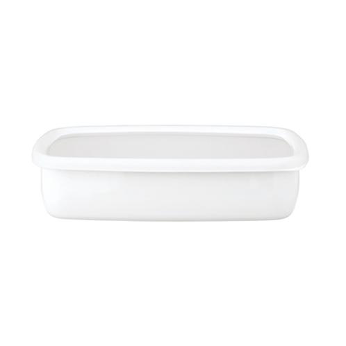 ハニーウェア コンテ <浅型角容器・L>富士ホーローハニーウエアコンテ(保存容器 キッチン用品 ホーム・インテリア)の画像