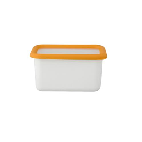 ハニーウェア コンテ <深型角容器・S>富士ホーローハニーウエアコンテ(保存容器 キッチン用品 ホーム・インテリア)の画像