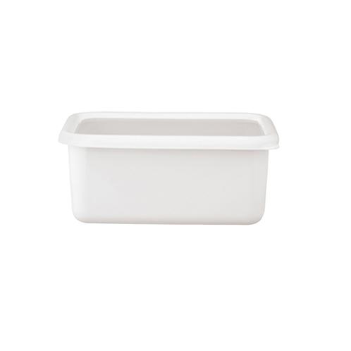 ハニーウェア コンテ <深型角容器・M>富士ホーローハニーウエアコンテ(保存容器 キッチン用品 ホーム・インテリア)の画像
