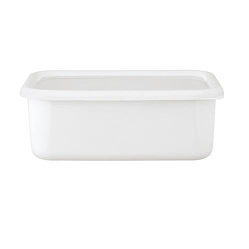 ハニーウェア コンテ <深型角容器・LL>富士ホーローハニーウエアコンテ(保存容器 キッチン用品 ホーム・インテリア)の画像