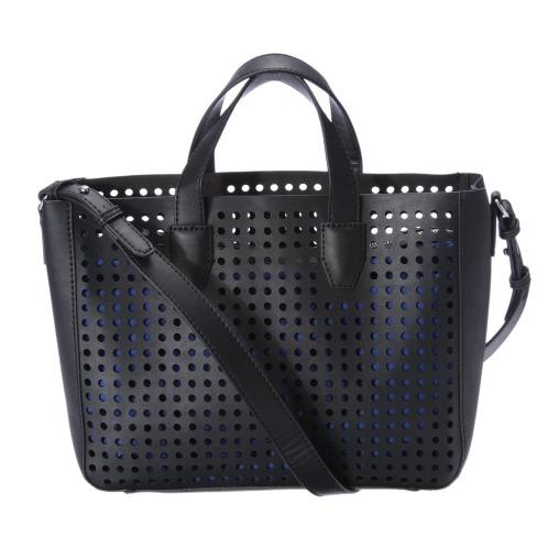 マンゴ マンゴインナーバッグ付パンチングデザインバッグ(財布・小物 ファッション)の画像