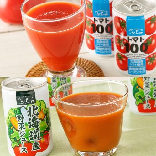 <60缶お買い得セット>北海道産トマトジュース&野菜ジュース