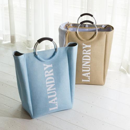 クラレリビング クラレリビング洗濯ネット付ランドリーバッグ(洗濯用品 洗濯・ハウスクリーニング用品 ホーム・インテリア)の画像